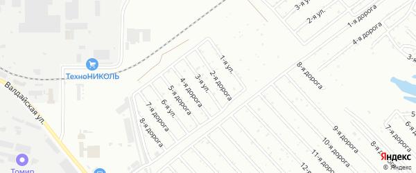 Сад 1 на карте Челябинска с номерами домов