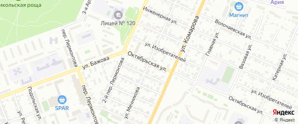 Улица Мечникова на карте Челябинска с номерами домов