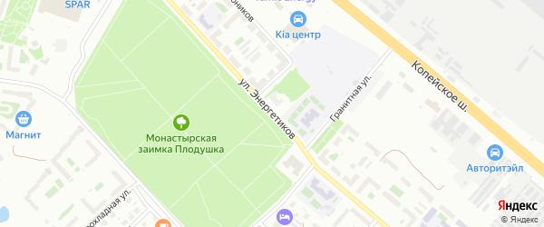 Улица Энергетиков на карте Челябинска с номерами домов