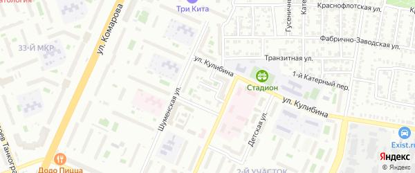 Перекопская улица на карте Копейска с номерами домов