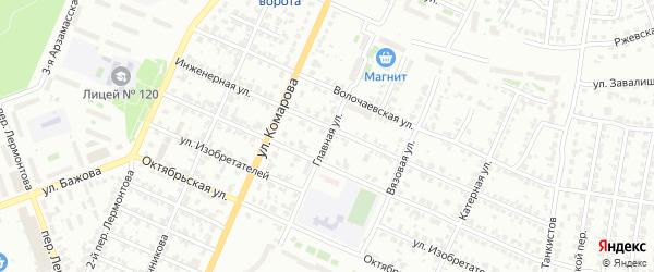 Главная улица на карте Челябинска с номерами домов
