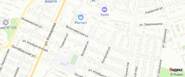 Волочаевская улица на карте Челябинска с номерами домов