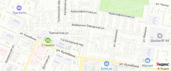 Улица Танкистов на карте Челябинска с номерами домов