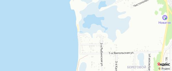 Макеевская 1-я улица на карте Челябинска с номерами домов