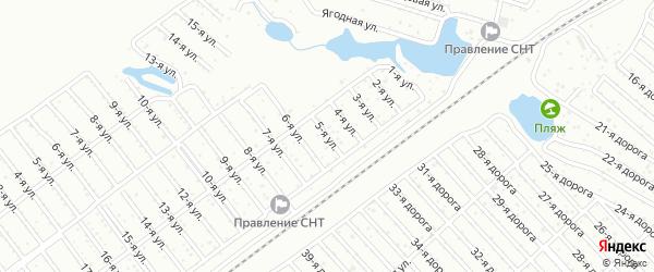 Сад СНТ Надежда улица 5 на карте Челябинска с номерами домов