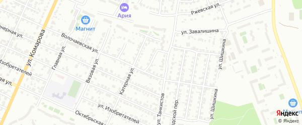 Волочаевский переулок на карте Челябинска с номерами домов