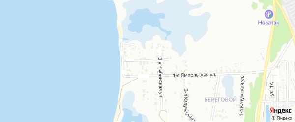 Рыбинская 2-я улица на карте Челябинска с номерами домов