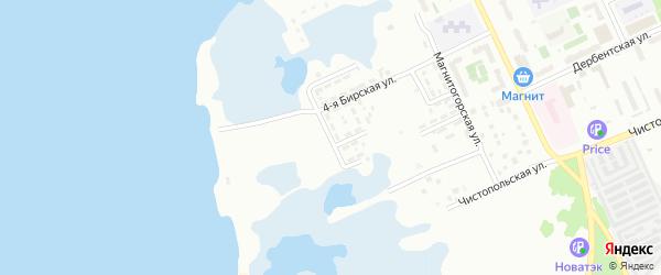 Низинная улица на карте Челябинска с номерами домов