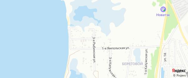 Рыбинская 3-я улица на карте Челябинска с номерами домов