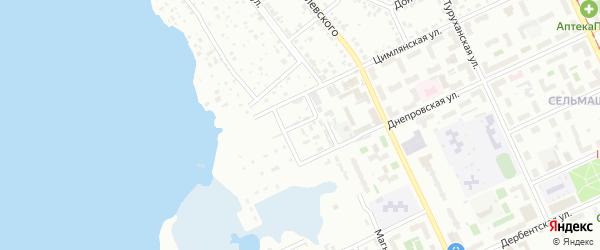 Бирская 1-я улица на карте Челябинска с номерами домов