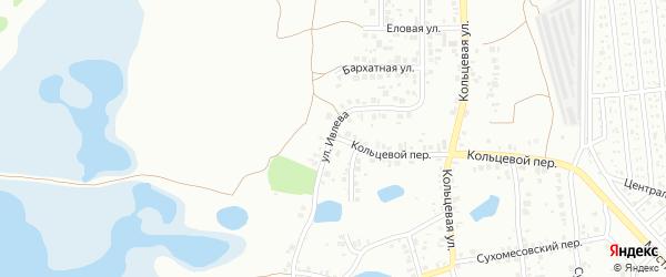 Улица Ивлева на карте Челябинска с номерами домов