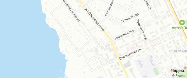 Магнитогорская улица на карте Челябинска с номерами домов