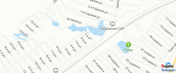 Сад СНТ Авиатор-2 улица 1 на карте Челябинска с номерами домов