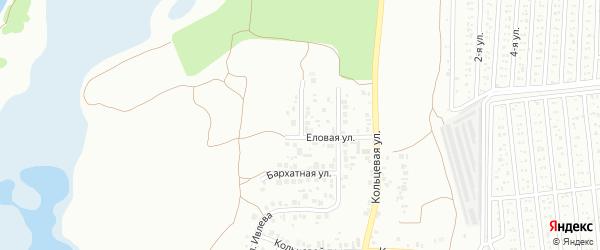 Облепиховая улица на карте Челябинска с номерами домов