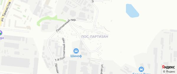 Водосточная улица на карте Челябинска с номерами домов