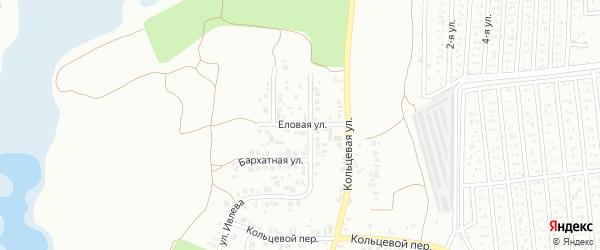 Еловая улица на карте Челябинска с номерами домов