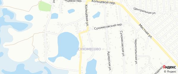 Кольцевая улица на карте Челябинска с номерами домов