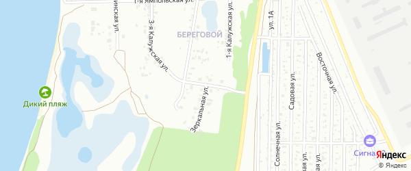 Ямпольская 2-я улица на карте Челябинска с номерами домов