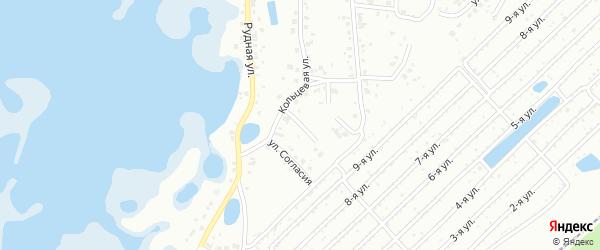 Улица Милосердия на карте Челябинска с номерами домов