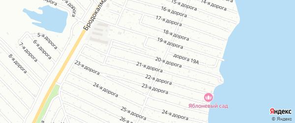 Тракторосад 1-2 сад Учителей на карте Челябинска с номерами домов