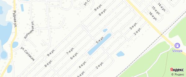 Станкостроитель 2 сад Станкомаш на карте Челябинска с номерами домов