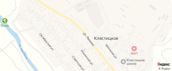 Улица Ленина на карте Клястицкое села с номерами домов