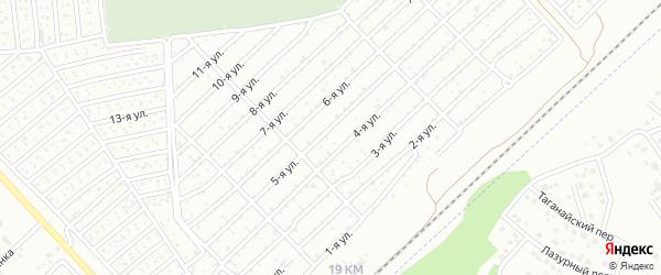 Березка 2 сад Электромашина на карте Челябинска с номерами домов