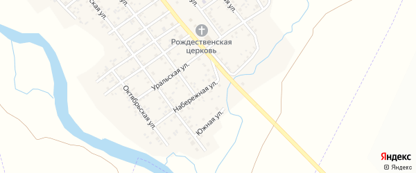 Набережная улица на карте Клястицкое села с номерами домов