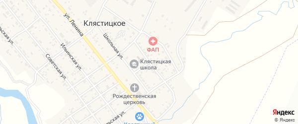 Восточная улица на карте Клястицкое села с номерами домов