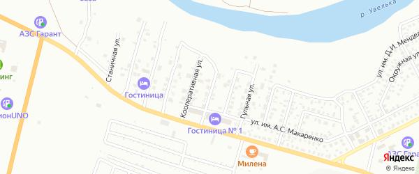 Цветочная улица на карте Троицка с номерами домов