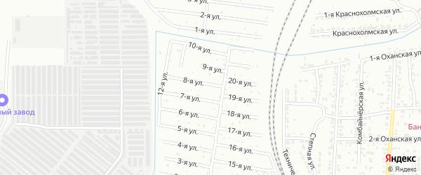 Кузнец 2 сад ЧКПЗ 2 на карте Челябинска с номерами домов