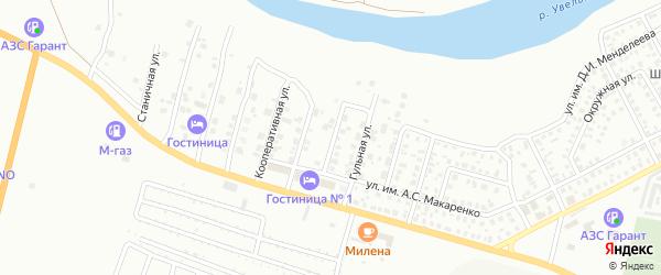 Солнечная улица на карте Троицка с номерами домов