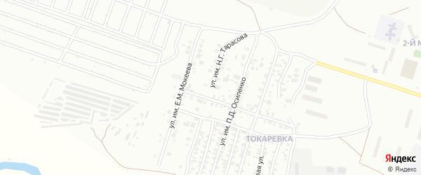 Улица им Н.Г.Тарасова на карте Троицка с номерами домов