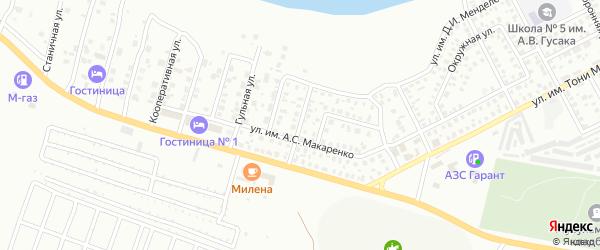 Краснофлотская улица на карте Троицка с номерами домов