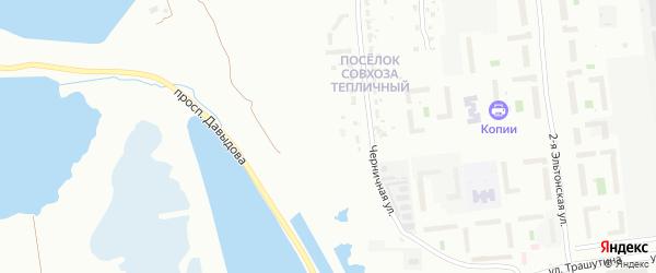 Улица Белова на карте Челябинска с номерами домов