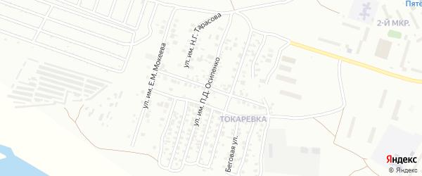Улица им В.Г.Перова на карте Троицка с номерами домов