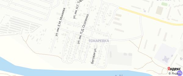 Водопроводная улица на карте Троицка с номерами домов