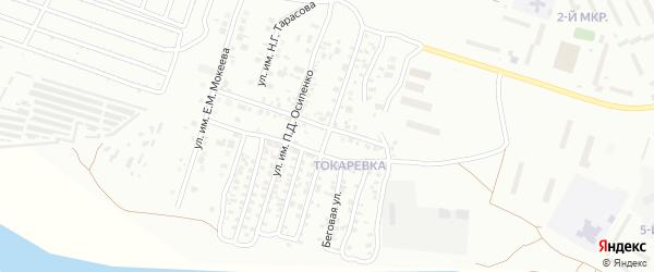 Улица им Н.А.Вознесенского на карте Троицка с номерами домов