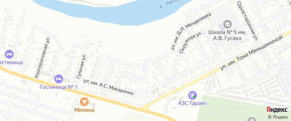 Улица им Д.И.Менделеева на карте Троицка с номерами домов