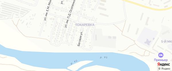 Улица им И.В.Курчатова на карте Троицка с номерами домов