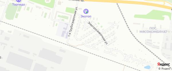 Трубосварочная 3-я улица на карте Челябинска с номерами домов