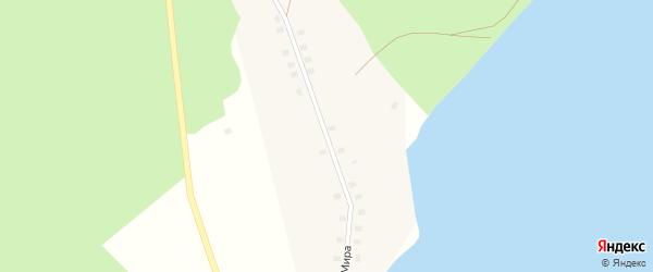 Улица Мира на карте Огневского села с номерами домов