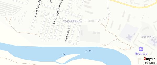 Ипподромная улица на карте Троицка с номерами домов