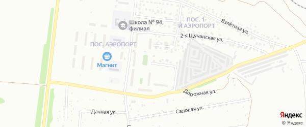 Уйская улица на карте Челябинска с номерами домов