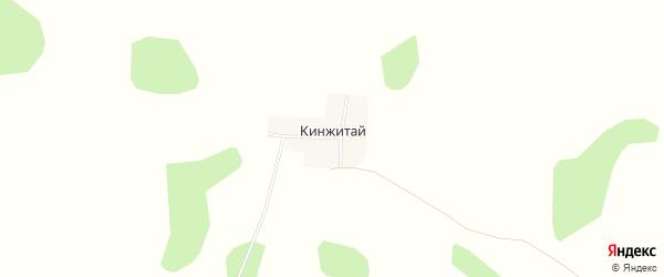 Карта поселка Кинжитая в Челябинской области с улицами и номерами домов