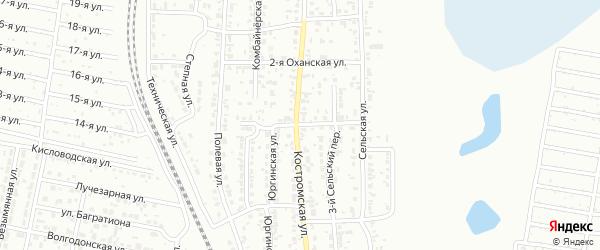 Фатеевская улица на карте Челябинска с номерами домов