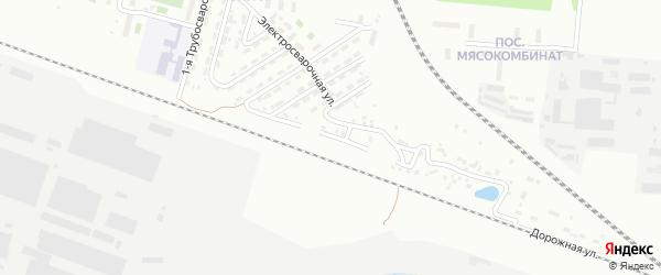 Грузовая улица на карте Челябинска с номерами домов