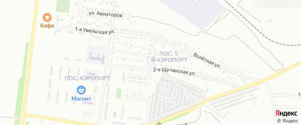 Щучанская улица на карте Челябинска с номерами домов