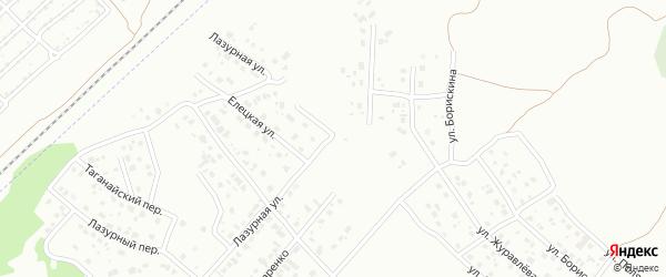 Лазурная улица на карте Копейска с номерами домов