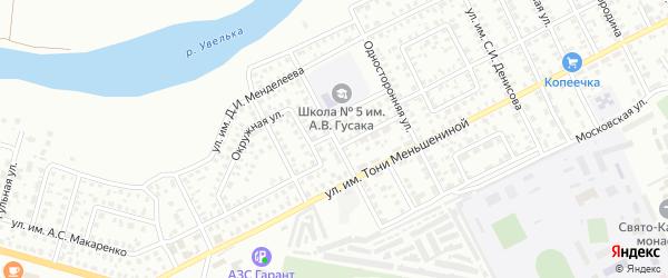 Улица им К.Э.Циолковского на карте Троицка с номерами домов